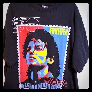 2XL legends never die Michael Jackson shirt